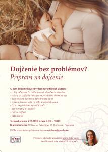 Dojčenie bez problémov?